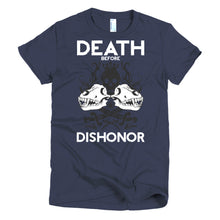 DEATH BEFORE DISHONOR WOMEN'S TEE