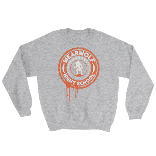 WEARWOLF NIGHT SCHOOL [ORANGE SWEATSHIRT]