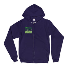 H.E.M.P. LABEL ZIP-UP HOODIE
