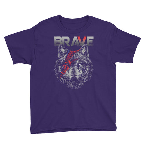 BRAVE UNISEX YOUTH TEE