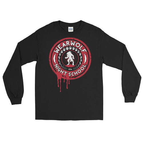 UNISEX WEARWOLF NIGHT SCHOOL [RED LS]