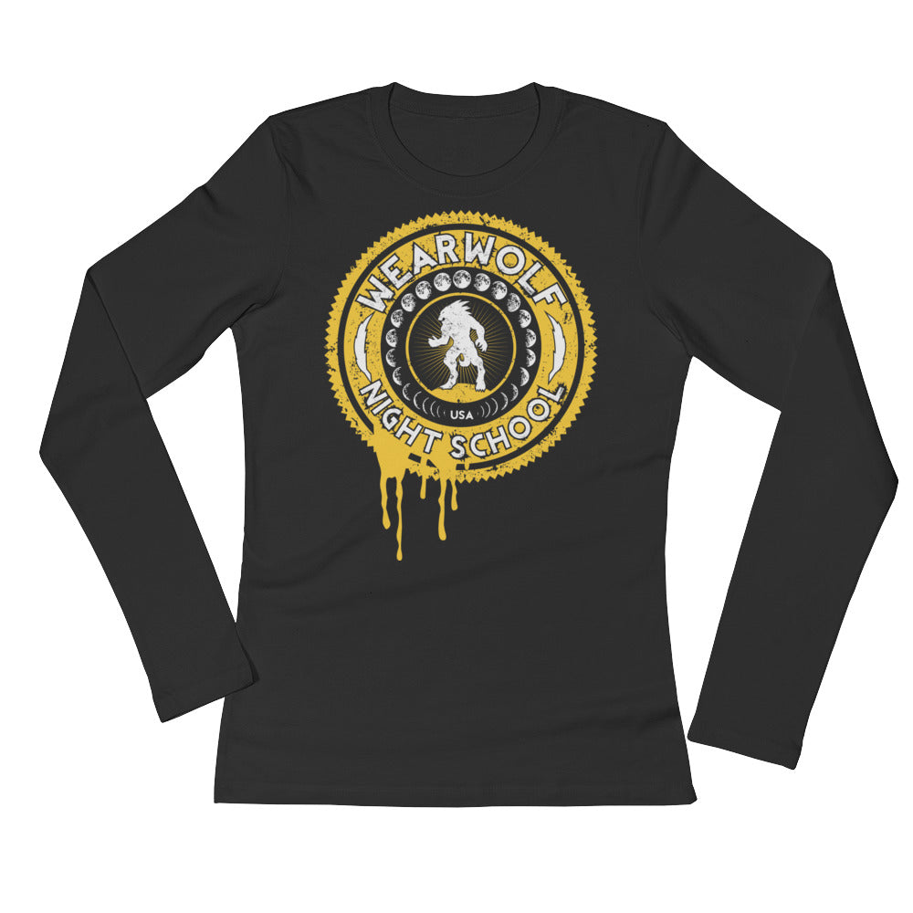 WOMEN'S WEARWOLF NIGHT SCHOOL [GOLD LS]