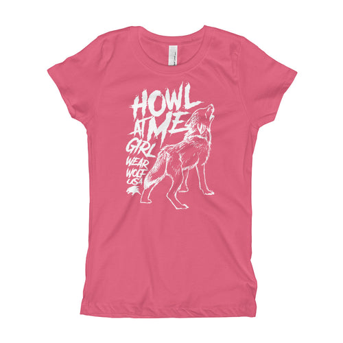 HOWL AT ME GIRL - YOUTH TEE