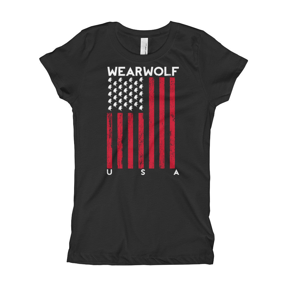 WOLF PRIDE GIRL'S YOUTH TEE