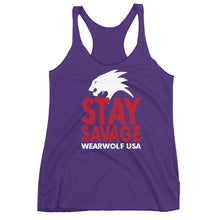 STAY SAVAGE LADIES TANK