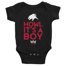 HOWL IT'S A BOY - INFANT ONESIE