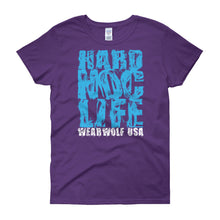 WEARWOLF USA HARD NOC LIFE WOMEN'S TEE