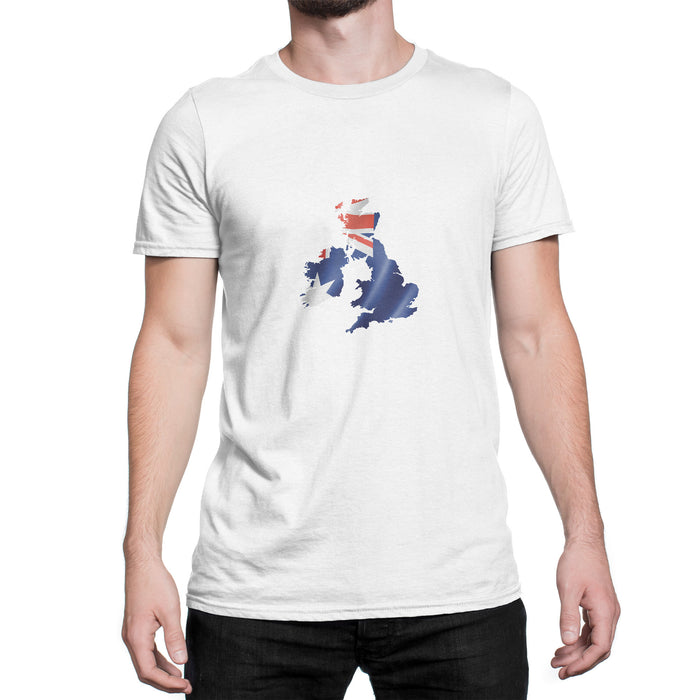 UK / Australia Mens Ex Patriot T Shirt in White