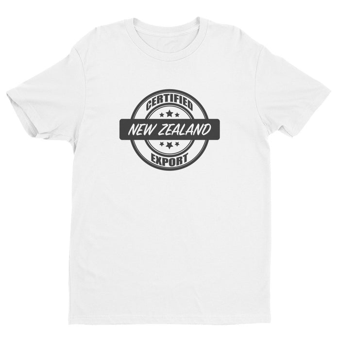 Certified New Zealand Export - Mens Ex Patriot T Shirt in White