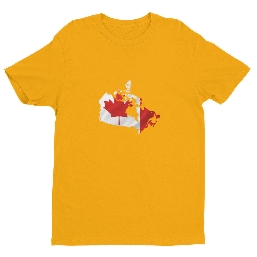 Canada Mens Ex Patriot T Shirt in Gold