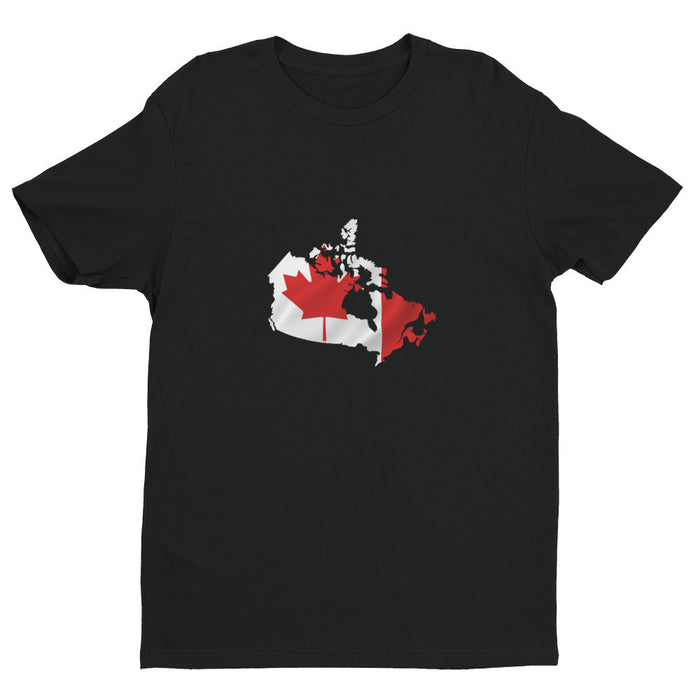Canada Mens Ex Patriot T Shirt in Black