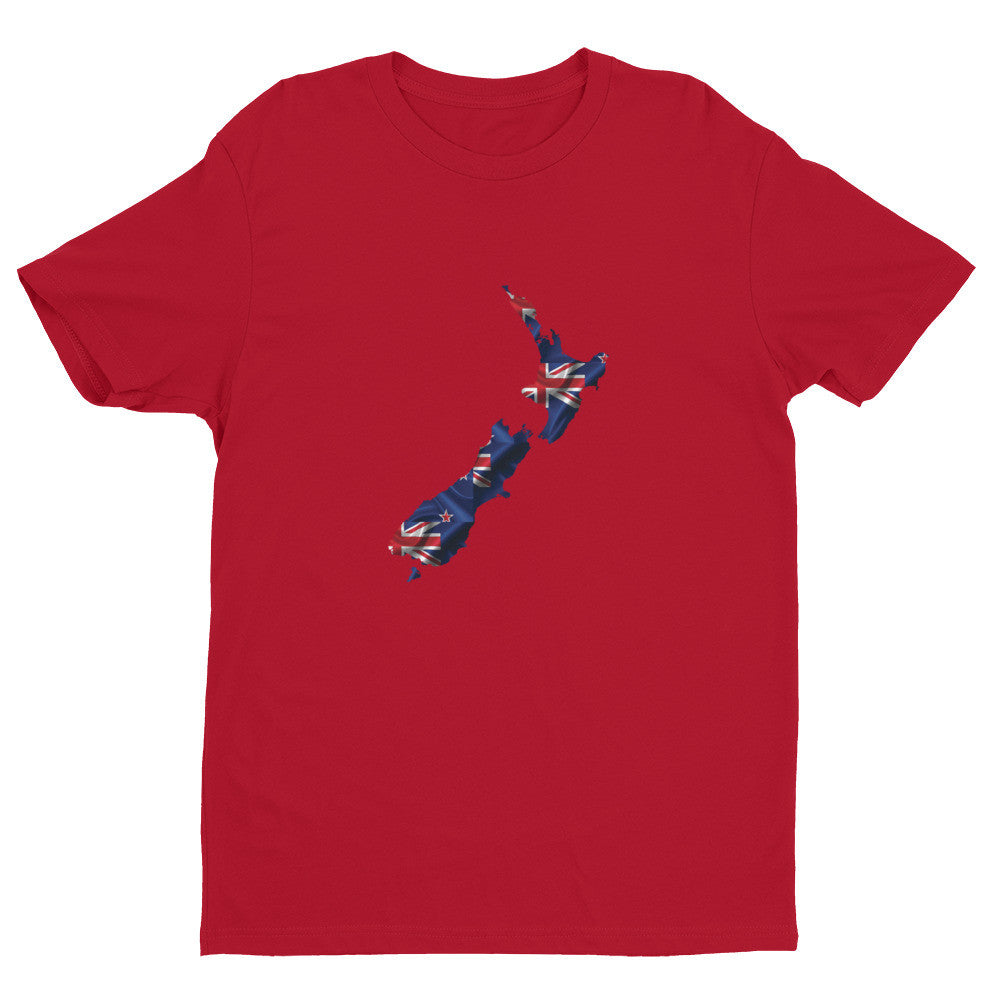New Zealand Mens Ex Patriot T Shirt in Red