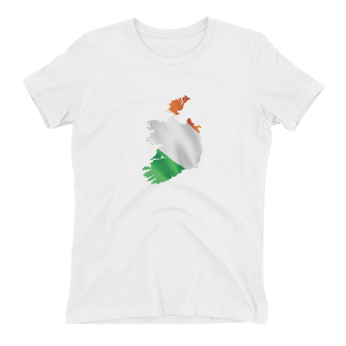 Ireland Womens Ex Patriot T Shirt in White