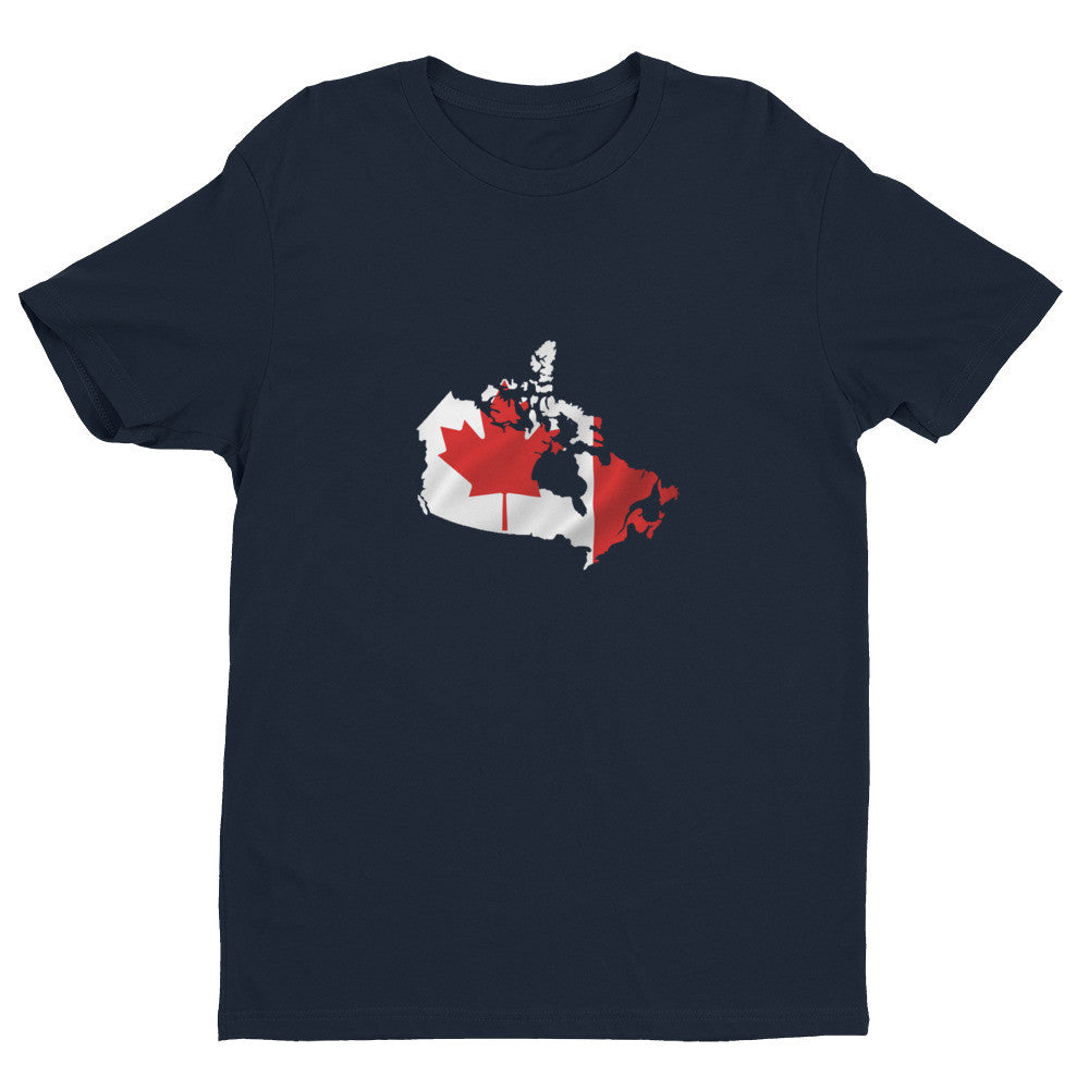 Canada Mens Ex Patriot T Shirt in Blue