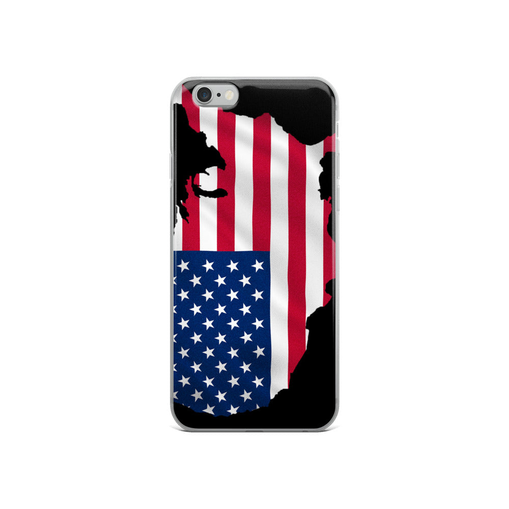 USA iPhone Case (iPhone 5/5s/Se, 6/6s, 6/6s Plus)