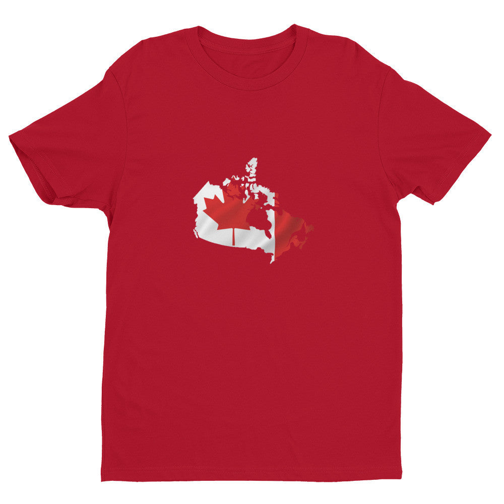 Canada Mens Ex Patriot T Shirt in Red
