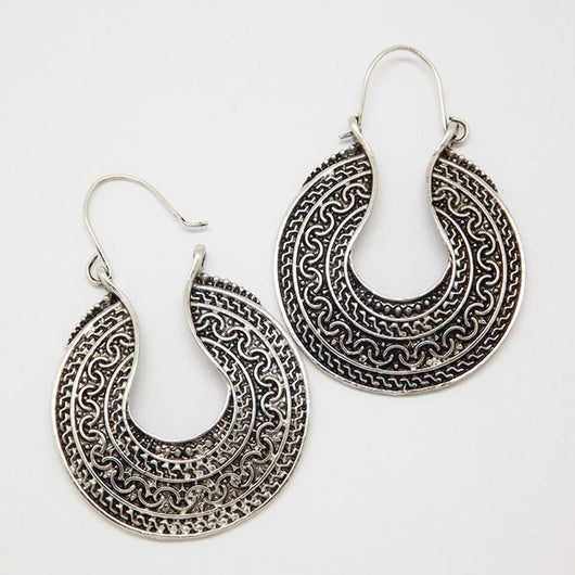 Retro Antique Tibet Silver Color