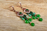 EDD Bead Dangle Earrings