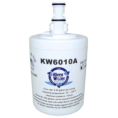 KleenWater KW6010A Refrigerator Replacement Water Filter
