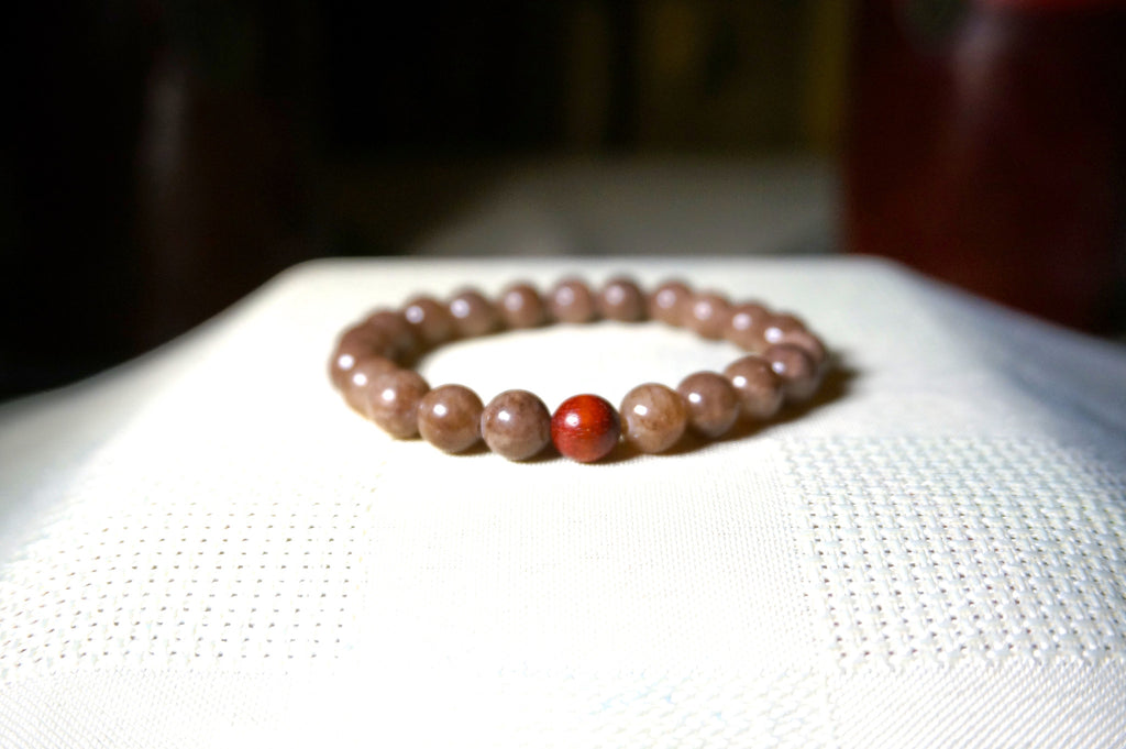 Grounding Mala (bracelet) - Rorey Moon Intention Bracelets