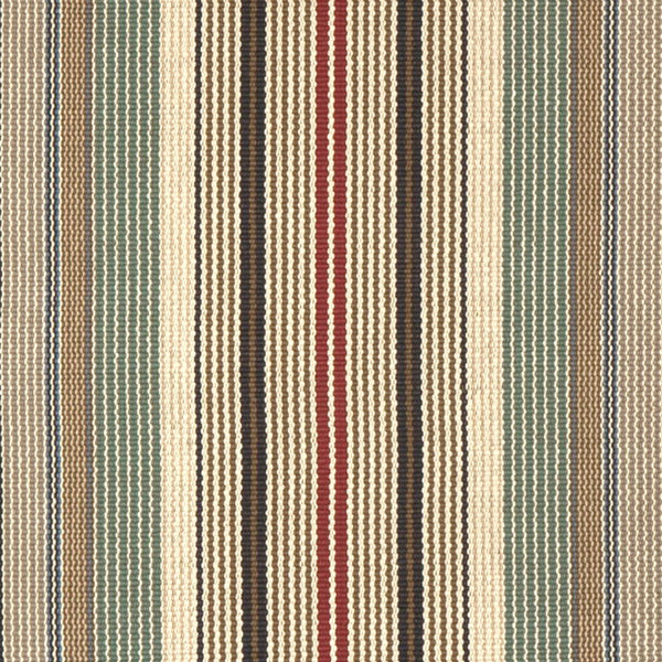 Ardmore #558-A is a bold vertical stripe design featuring tan, burgundy, green, blue and black. This rug is a focal point for any room, or a statement piece on stairs. Available in 27 inches wide, 4 feet wide and 6 feet wide.
