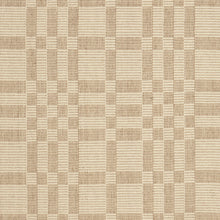 Geometric Checkerboard #34-L is a flat woven check design with various size squares that form an interesting pattern. This colorway works well in any home, but has a more modern feeling. Neutrals coordinate well with all styles and it is plain without being boring. This versatile design features khaki and natural beige and is available in all sizes from 27 inch wide runners to room size area rugs.