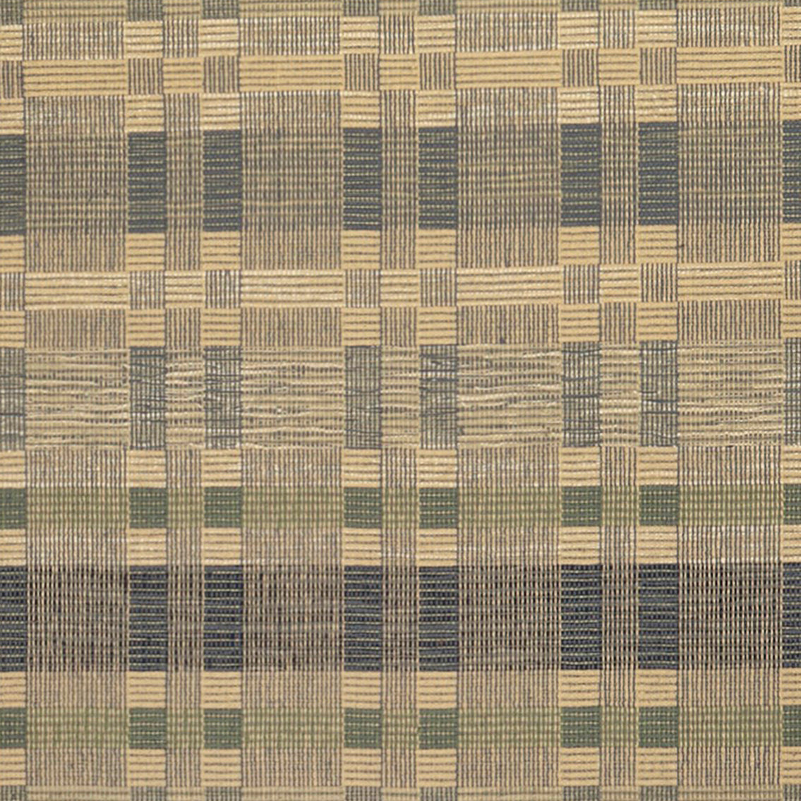 Geometric Checkerboard #90-G is a flat woven check design with various size squares that form an interesting pattern. This colorway works well in coastal or beach homes, or anywhere cooler colors are desired. Featuring blue, blue-green and cream, this versatile design is available in all sizes from 27 inch wide runners to room size area rugs.