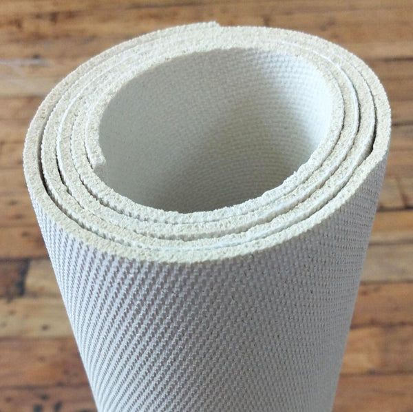 1/8 inch thin non-slip rug pad. Perfect for area rugs and runners. Cut to fit for any rug size.