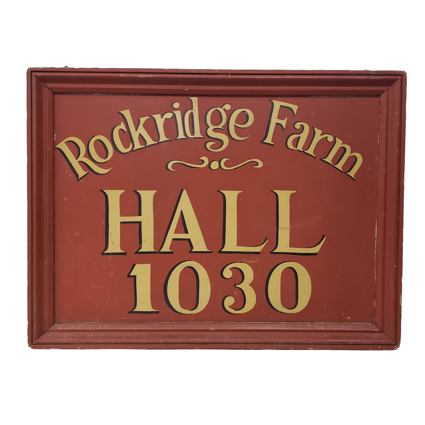 Rockridge Farm Trade Sign