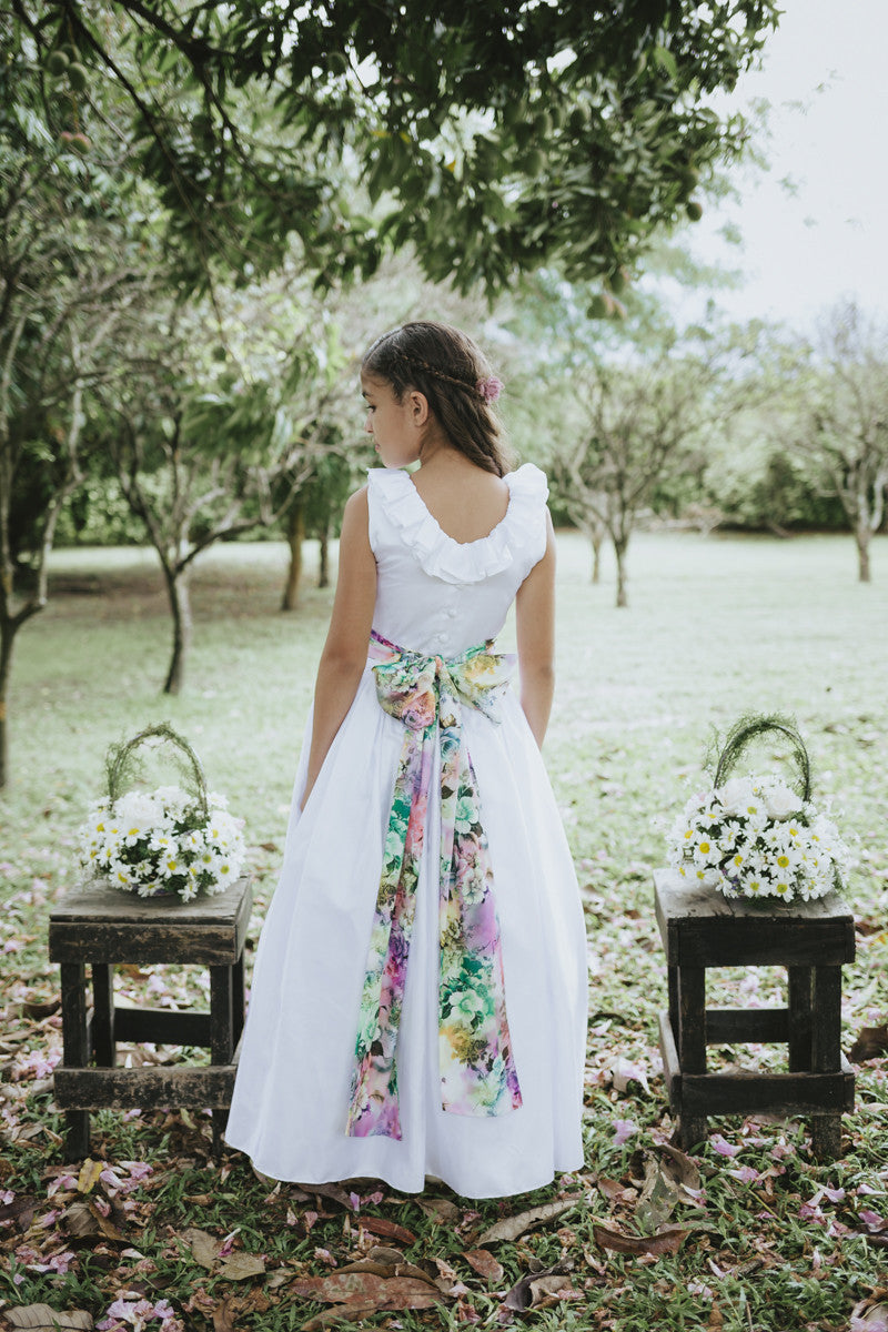 Sabrina Flower Girl Dress, , Bianca Miele London