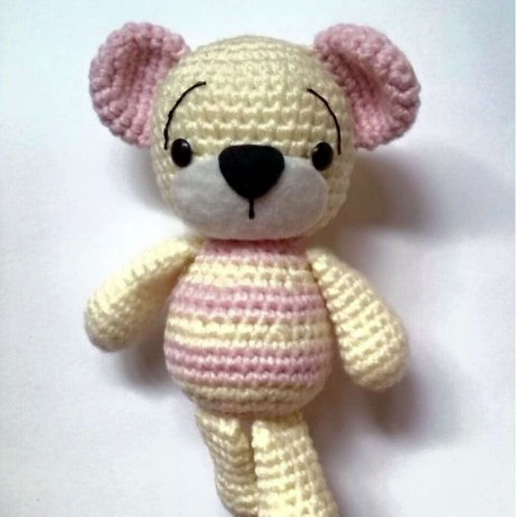 Bimba the Bear Soft Toys - Bianca Miele London