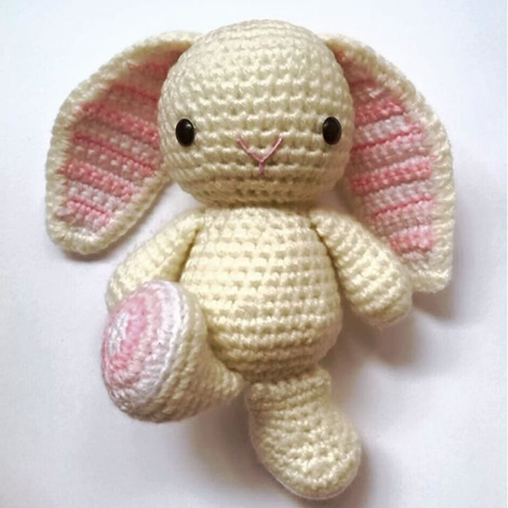 Candy the Rabbit, Soft Toys, Bianca Miele London