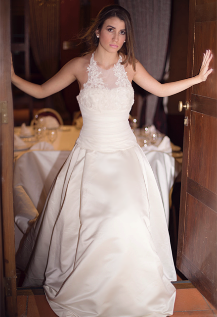 Penelope Wedding Dress, wedding dress, Bianca Miele London