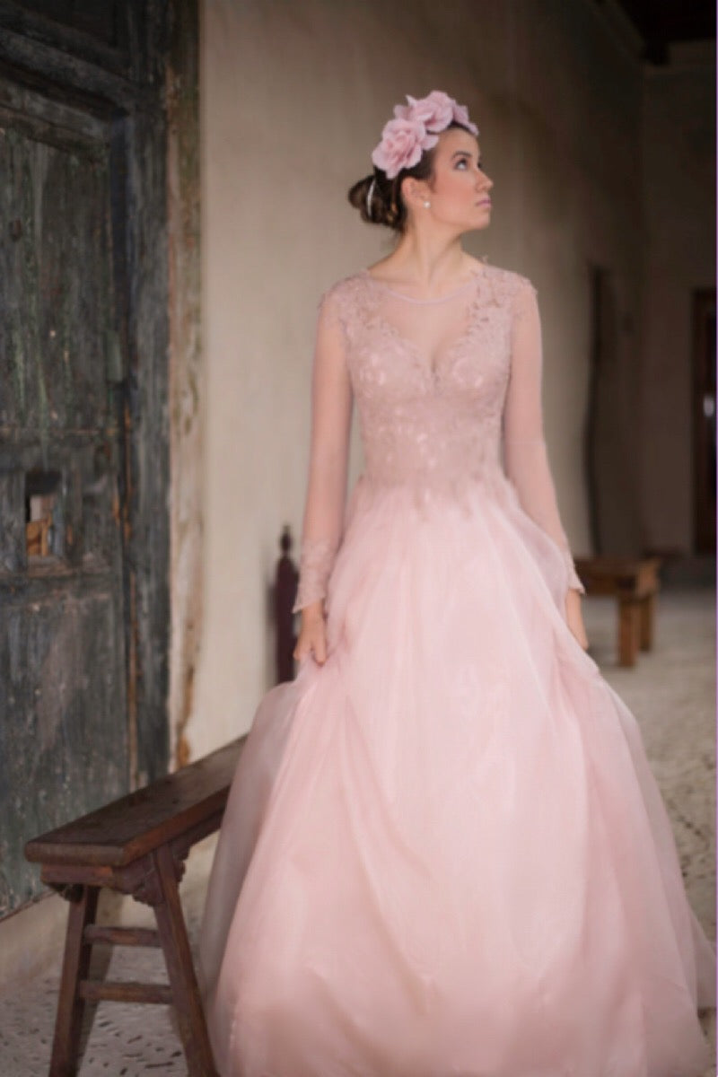 Rose Wedding Dress wedding dress - Bianca Miele London