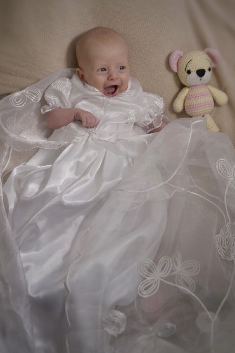 Matilda Christening Gown, Christening Gown, Bianca Miele London