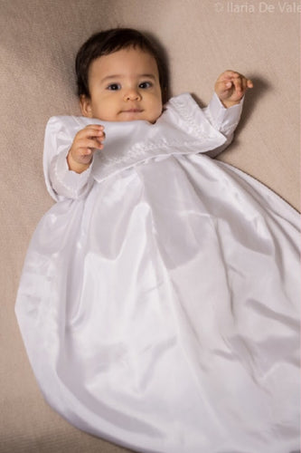 Boy's Santiago Christening Gown Boys Christening Gown - Bianca Miele London