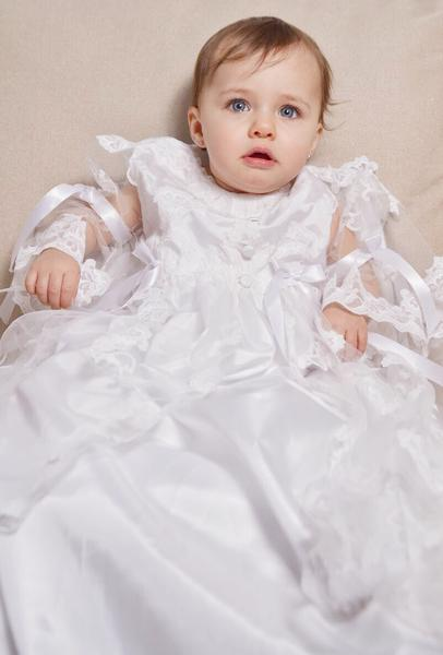 Adriana Christening Gown Christening Gown - Bianca Miele London