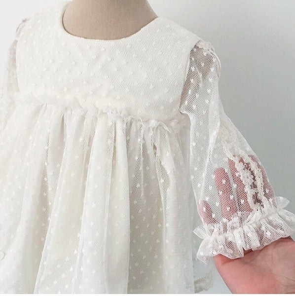 Dotty Rose Christening Gown, Christening Gown, Bianca Miele London
