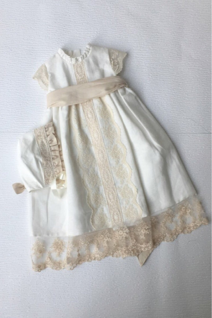 Margie Christening Gown, , Bianca Miele London
