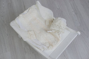 Sandy Girls Christening Romper, Boys Romper, Bianca Miele London