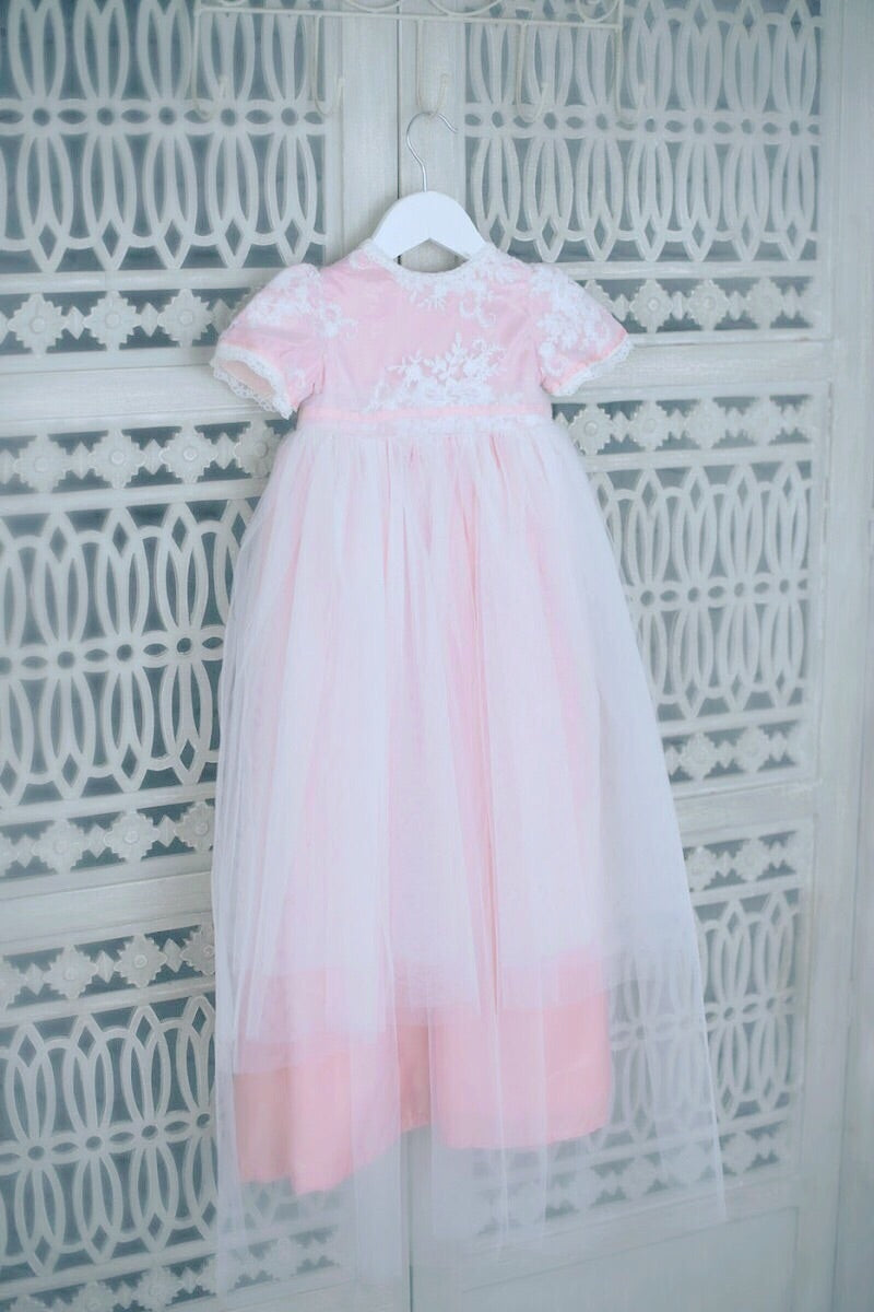 Brize Christening Gown, , Bianca Miele London