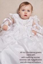 Load image into Gallery viewer, Adriana Christening Gown/Dress