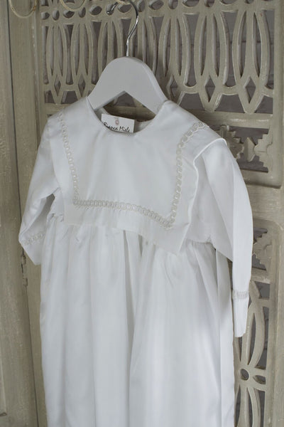Boy's Santiago Christening Gown, Boys Christening Gown, Bianca Miele London