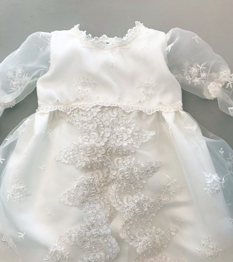Melina Christening Gown, Christening Gown, Bianca Miele London