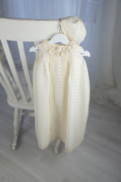 Lucia Christening Gown, Christening Gown, Bianca Miele London