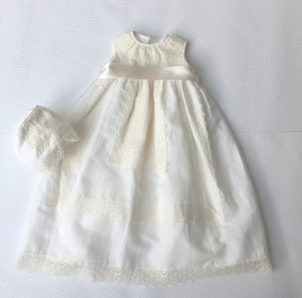 Vivian Christening Gown  - Bianca Miele London