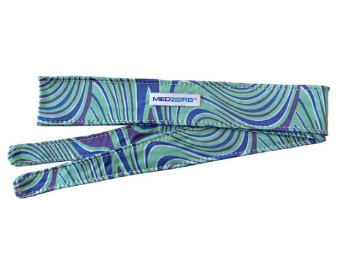 Zorby™ Sweat Absorbing 2 inch Sport Headtie in Celestial Blue