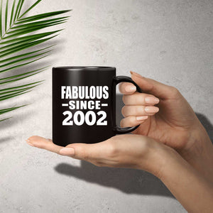 19th Birthday Fabulous Since 2002 - 11 Oz Coffee Mug