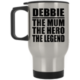 Debbie The Mum The Hero The Legend - Travel Mug
