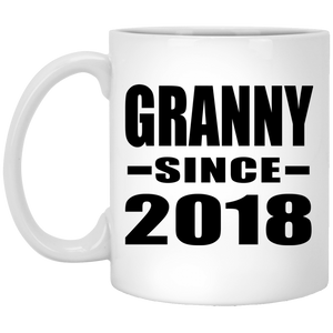 Granny Since 2018 - 11 Oz Coffee Mug